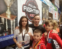 3 medale na Polish Fighter Kids