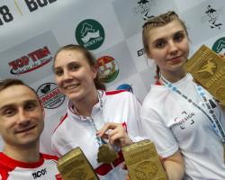 Zuzia i Paulina zdobywają Puchar Świata w Budapeszcie!