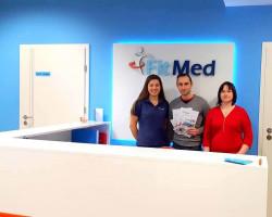 Przychodnia FIT-MED z Wejherowa wspiera wyjazd na MŚ