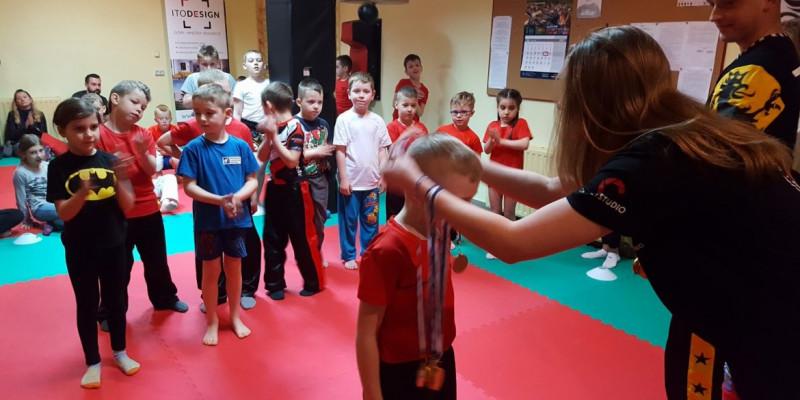 Klubowa Liga Kickboxingu dla dzieci