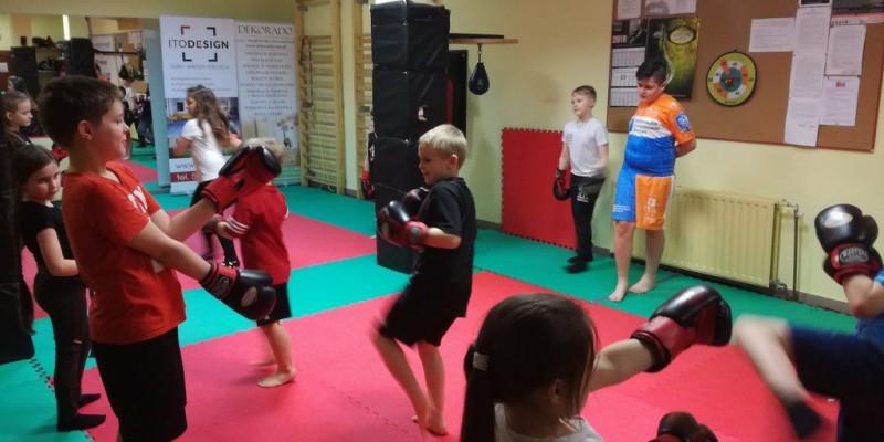 Kickboxing w miesiącu LIPIEC