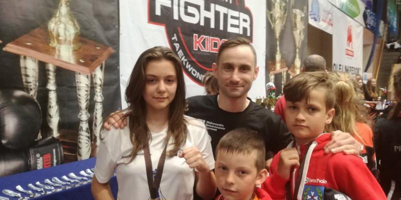3 medale na Polish Fighter Kids